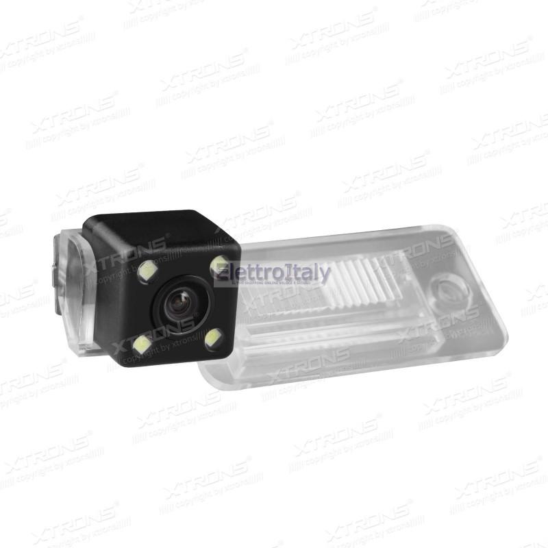 Telecamera luce targa per audi a3 a4 a5 a6 q7 xtrons for Camera targa