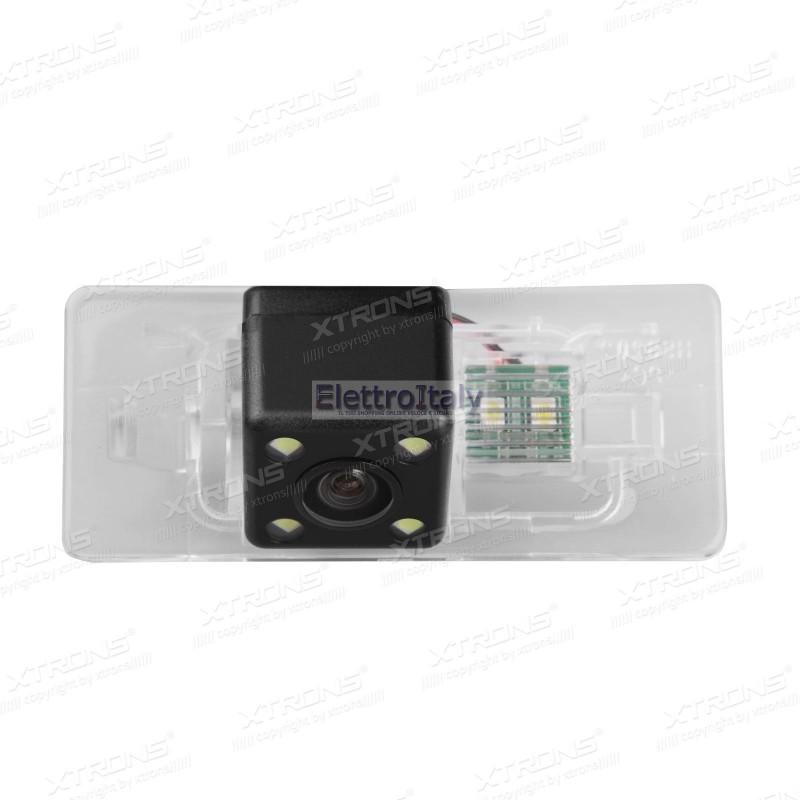Telecamera luce targa per audi a3 q5 a1 a7 q3 xtrons for Camera targa