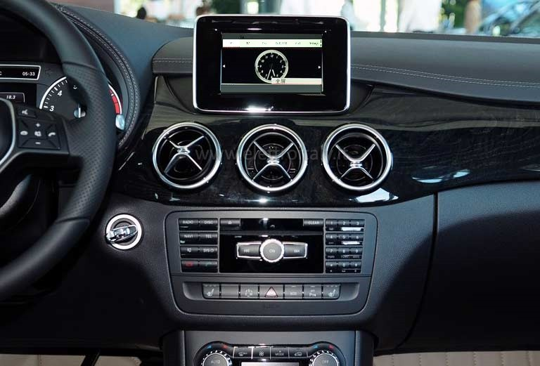 autoradio navigatore gps per mercedes classe a w176 b w246 ebay. Black Bedroom Furniture Sets. Home Design Ideas