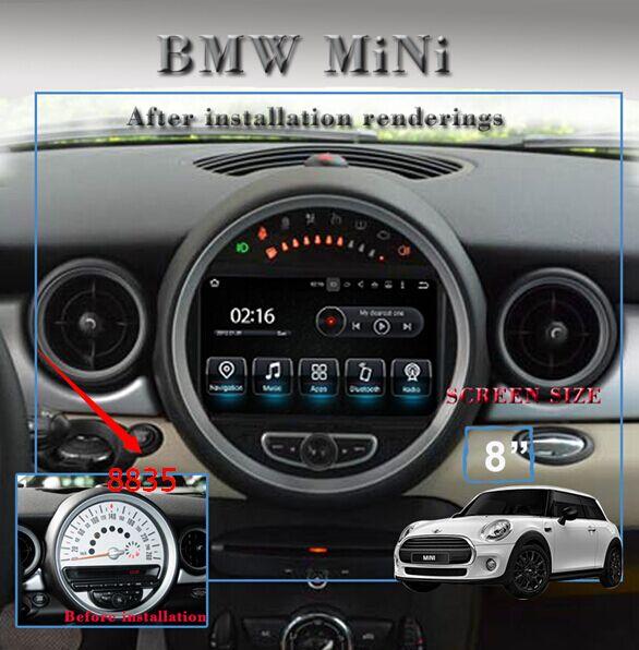 Autoradio Navigatore Bmw Mini Cooper Multimediale Android 5 1