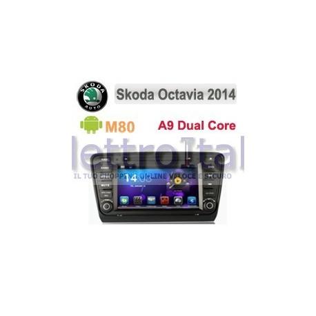 Navigatore Mercedes Classe C Multimediale M80 Android 4.4 C8093