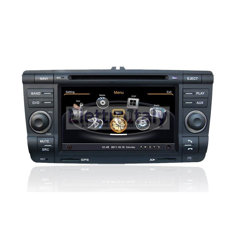 autoradio navigatore gps per skoda octavia. Black Bedroom Furniture Sets. Home Design Ideas