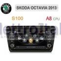 Autoradio Navigatore SKoda Octavia 2013 Multimediale S100 C279