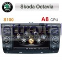 Autoradio Navigatore SKoda Octavia Multimediale S100 C005