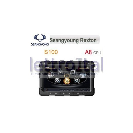 Autoradio Navigatore Ssangyong Rexton Multimediale S100 C269
