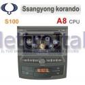Autoradio Navigatore Ssangyong Korando Multimediale S100 C159
