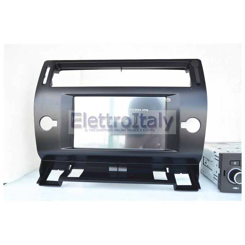 autoradio navigatore gps per citroen c4 2004 2012. Black Bedroom Furniture Sets. Home Design Ideas