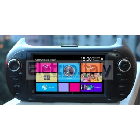 Navigator Car Fiat Punto EVO Blue & Me Multimedia 6220