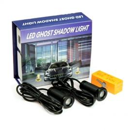 Coppia Lampade LED Proiettori LOGO