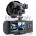 DVR registratore video doppia telecamera GPS Urti