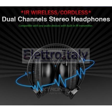 Cuffia Wireless Stereo 2 canali