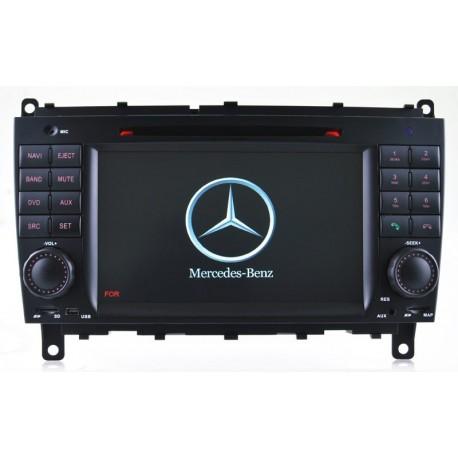 Navigatore Mercedes Classe CLK Multimediale 8812