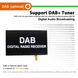 Decoder Radio FM Digitale DAB+ M095