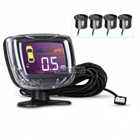 Sensori di parcheggio su paraurti (4 sensori) con monitor
