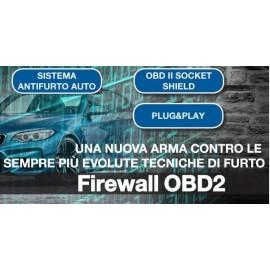 Firewall OBD2 anti intrusione centralina per allarme auto