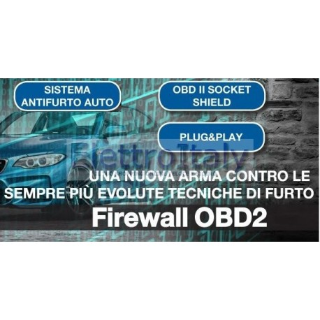Firewall OBD2 anti intrusione centralina