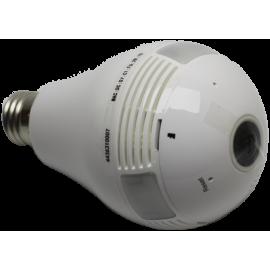 Lampada con Telecamera WiFi IP accesso remoto