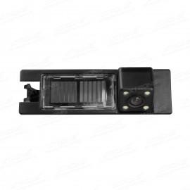 Telecamera luce targa Fiat Punto Opel Vectra/Astra/Zafira con LED