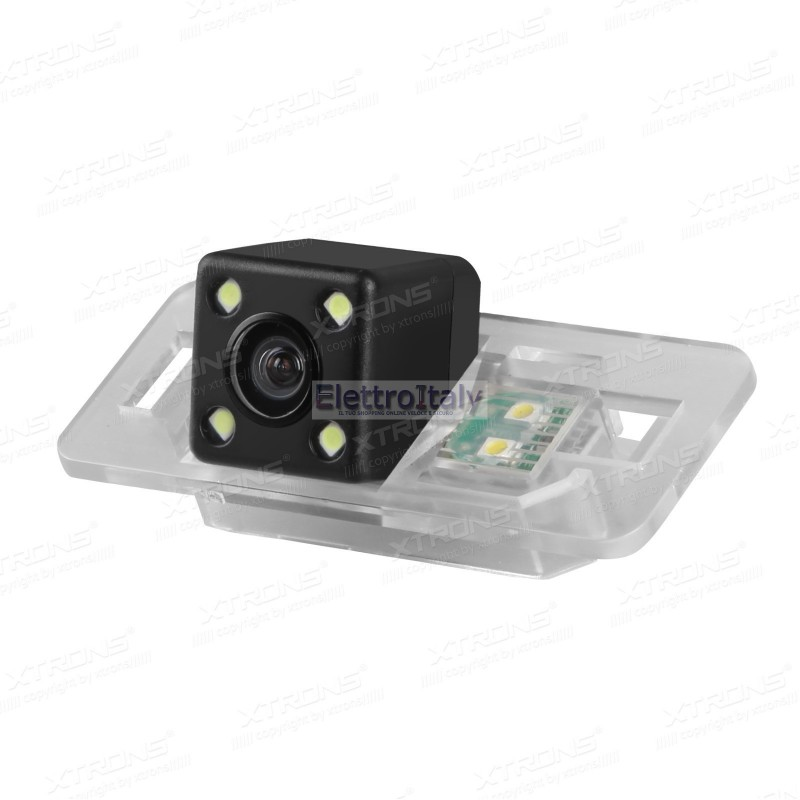 Telecamera luce targa bmw e46 e39 x5 x1 con led for Camera targa