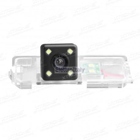 Telecamera luce targa Volkswagen Polo Passat CC Golf Bora con led
