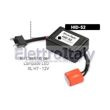 Kit Can-BUS per Lampade LED XL H7 - 12V