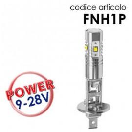 Coppia Lampade LED H1 25W con lenticolare
