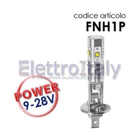 Coppia Lampade LED H1 30W con lenticolare