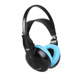 Cuffia Wireless Stereo 2 canali azzurra