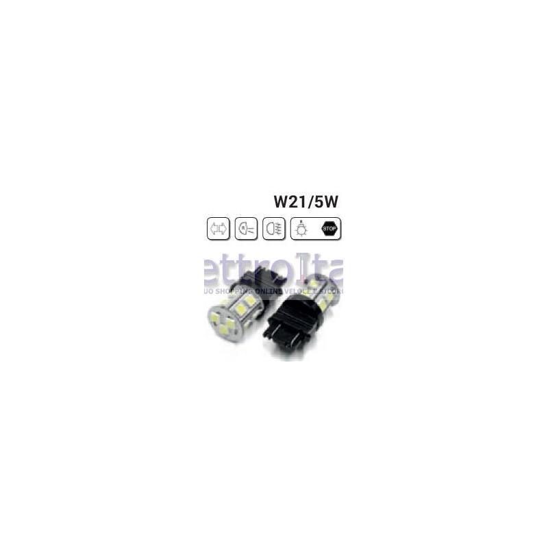 coppia-lampade-led-w21w5w-t20-2-filamenti-con-18-led-6000k
