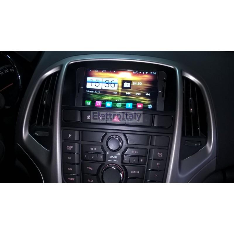 Navigatore Opel Astra J Android 444 Quadcore S160