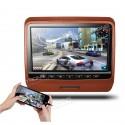 Monitor 9 pollici DVD poggiatesta HDMI