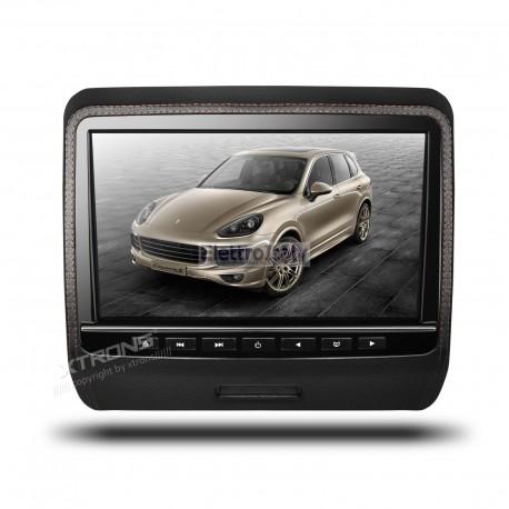 Monitor 9 pollici DVD poggiatesta HD con HDMI removibile XTRONS