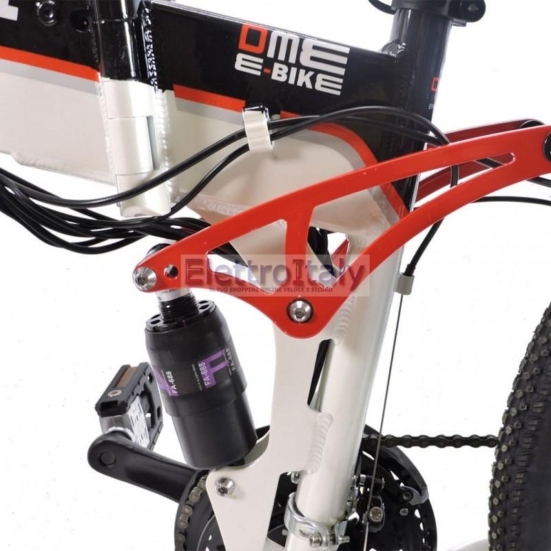 Mountain Bike Elettrica 26 Bicicletta A Pedalata Assistita