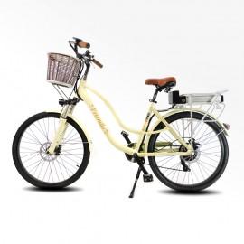 """Bici elettrica da passeggio 26"""" Bicicletta pedalata assistita Olandese"""