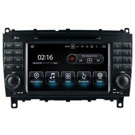 Navigatore Android Mercedes CLK W209 2006 Multimediale 8812