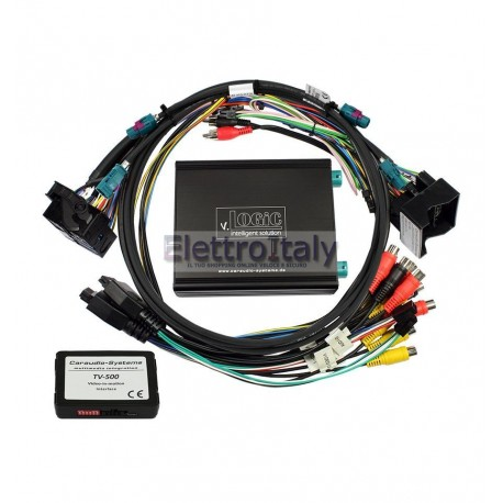 V.LOGIC INTERFACCIA VIDEO E MEDIA CONTROLLER PER MERCEDES COMAND ONLINE NTG5 NTG5.1 ED AUDIO 20 NTG5 NTG5.1