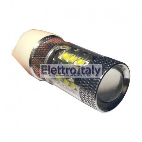 Lampada LED Bianco T20/5W con lenticolare 80W