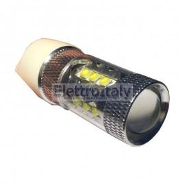 Lampada LED Gialla T20/5W con lenticolare 80W