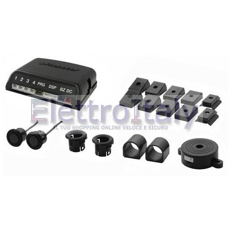 Kit di Sensori di parcheggio posteriori con 2 sensori e Autoblanking Phonocar