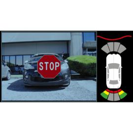 Sensori di parcheggio con controllo video