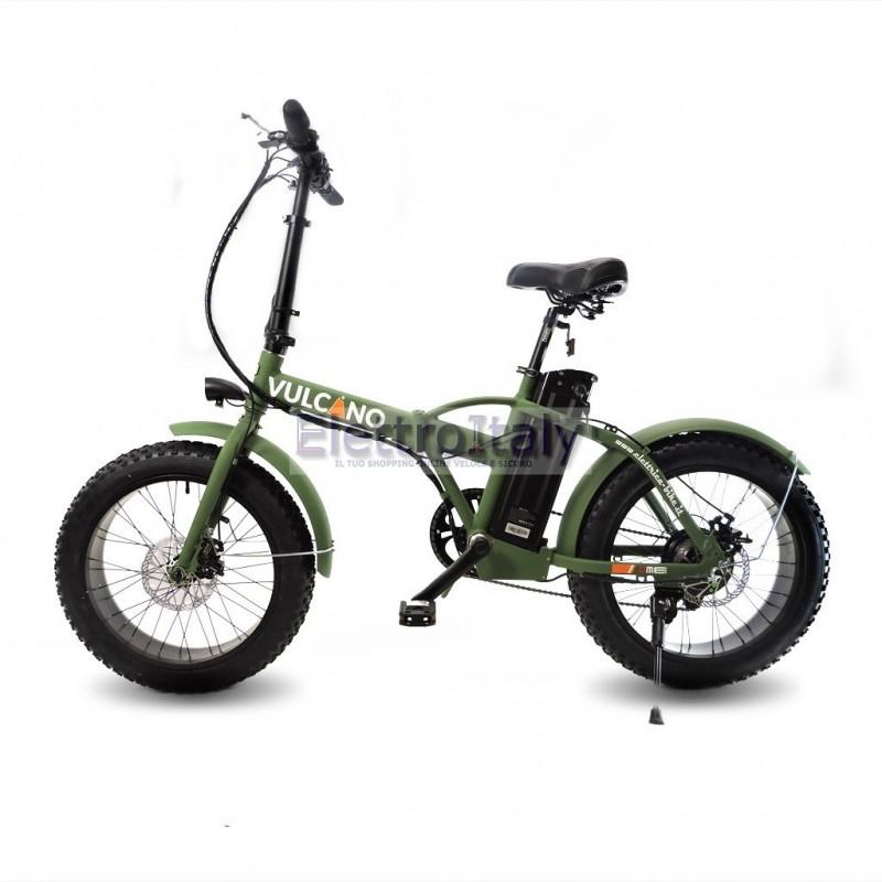 Fat Bike 30 Ver 20 Pieghevole Bicicletta Elettrica Pedalata Assistita