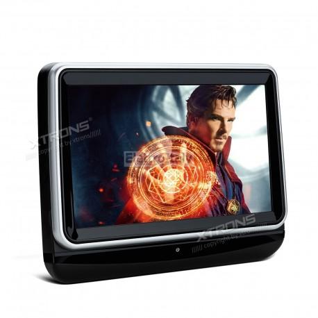 Monitor 10 pollici touschreen HD 1080P da poggiatesta con DVD HDMI Xtrons