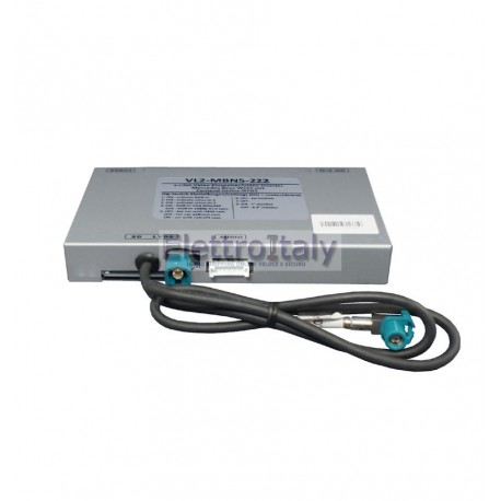 INTERFACCIA VIDEO PER MERCEDES W222 E C217 COMAND ONLINE NTG5