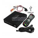 LETTORE USB MULTIMEDIALE AUDIO - VIDEO CON SUPPORTO PER HARD DISK 2TB