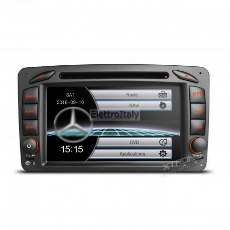 Autoradio Navigatore Mercedes CLK A G C Viano Multimediale Xtrons