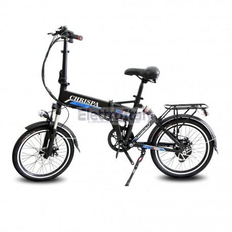 Bicicletta pieghevole elettrica 20 pedalata assistita litio