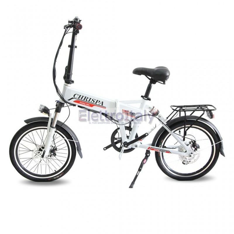Bicicletta pieghevole elettrica 20 pedalata assistita litio for Bici elettrica assistita