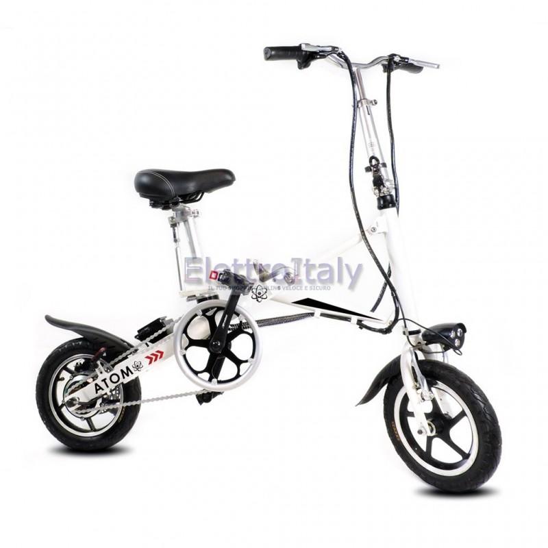 Bicicletta pieghevole elettrica 12 pedalata assistita for Bici elettrica assistita