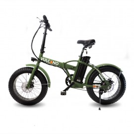 "Fat-Bike 20"" 500W pieghevole Bicicletta elettrica pedalata assistita"