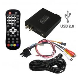 SINTONIZZATORE RICEVITORE DIGITALE TERRESTRE DVB-T AFS CON PLAYER AUDIO/VIDEO USB